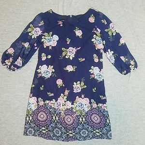 Amy byer size 14 girls floral dress